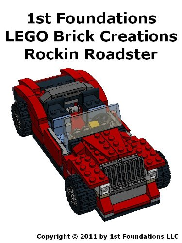 1st Foundations Lego Brick Creations Instructions For A Roadster