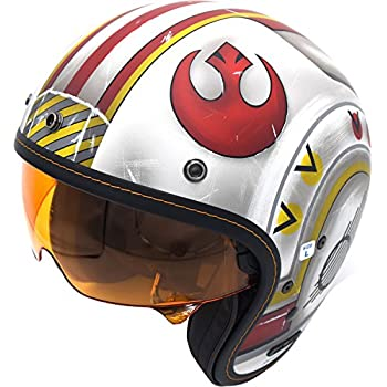 HJC X-Wing Fighter Adult IS-5 Cruiser Motorcycle Helmet - MC1F / X-Small