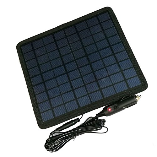 Beenaspiring Waterproof Solar Panel 12V Battery Charger System Maintainer For Marine Boat & RV &Car by Beenaspiring (Image #2)