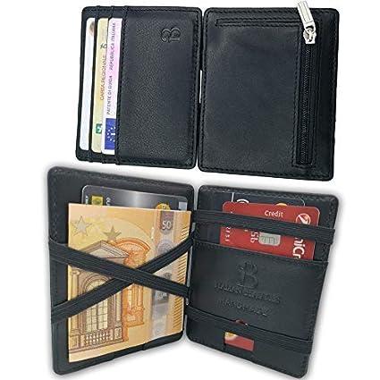 4d01e8a2d0 Italian Beauties Capri Portafoglio Magico Rigido, Sottile e Compatto con  Portamonete e Carte di credito