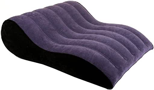 Leg and Knee Prop Up Made in Foam with Removable and Washable Cover Helps with Acid Reflux Ideal for Reading Triangle Pillow Wedge Pillow Support Cushion PVC Inflatable Flocking Pillow Back