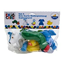 World of Eric Carle, Bath Squirt Toys by Kids Preferred