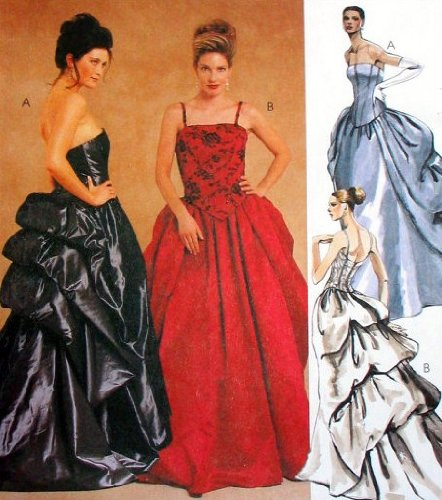 McCall's 2232 Sewing Pattern Misses Bridal and Evening Gowns