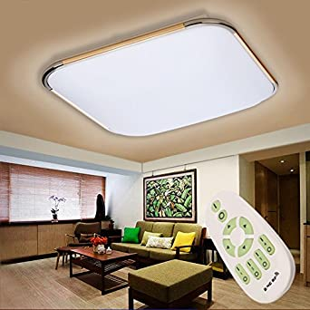 Floureon 56 64W LED Deckenlampe Smart Deckenbeleuchtung Dimmbar Mit Fernbedienung Fr Wohnzimmer Schlafzimmer Kinderzimmer Kche
