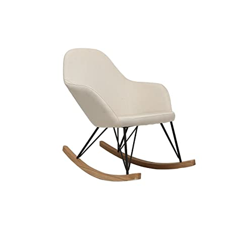 Miliboo POLTRONE Relax Jhene Fauteuil Relax Rocking Chair Petit
