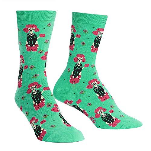 - Studded Punk Rock Dog Collar , Women S Dogs Crew Socks, Thigh High Socks Fluffy