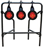 Do-All Outdoors - Bonehead Rebar Triple Spinner Steel Target, Rated for .22 Caliber