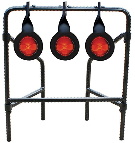 Do-All Outdoors - Bonehead Rebar Triple Spinner Steel Target, Rated for .22 Caliber by Do-All Outdoors