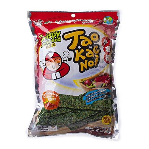 Tao Kae Noi Seaweed - Tao Kae Noi Seaweed Hot and Spicy Flavor (2 Packs)