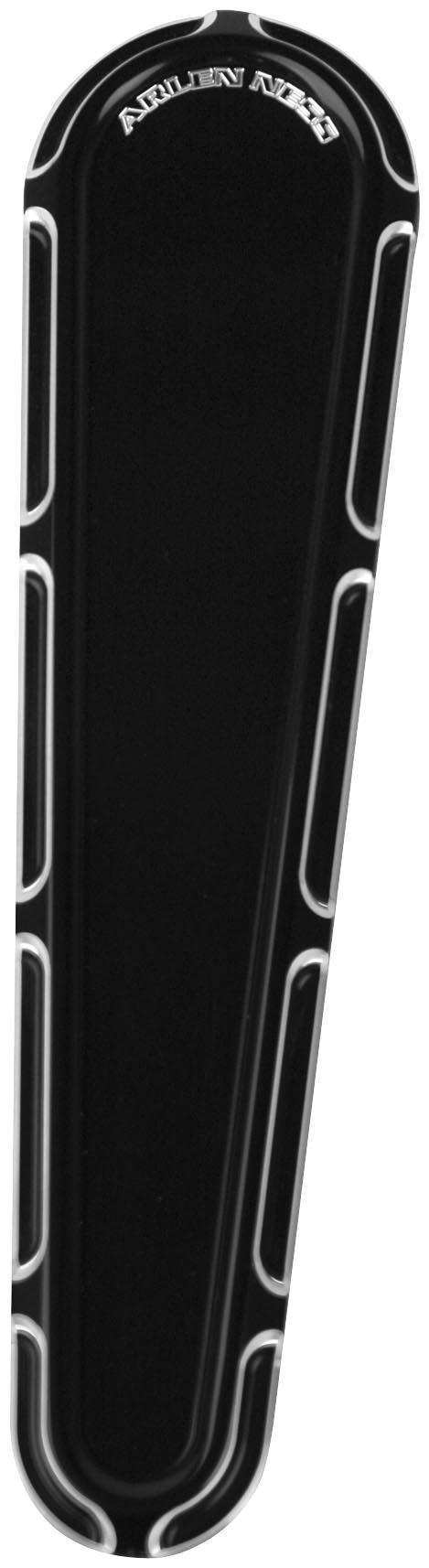 Arlen Ness 04-146 Black Billet Dash Insert