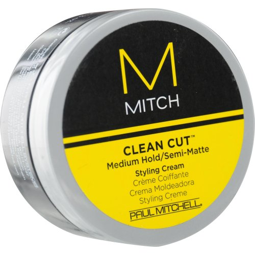 Paul Mitchell hommes de Paul Mitchell Mitch Clean Cut Medium Hold / semi mat-Styling Crème pour les hommes, 3 onces