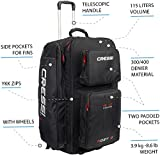 Cressi Moby 5, Black/Red, None