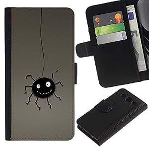 Ihec-Tech / Flip PU Cuero Cover Case para Samsung Galaxy S3 III I9300 - Funny Bug