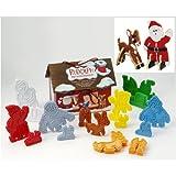 Rudolph 3-D Cookie Cutter Set 11684