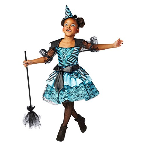 [Girls' Deluxe Lace Enchanted Witch Costume Small (4-6x)] (Wicked Witch Of The West Costume Disney)