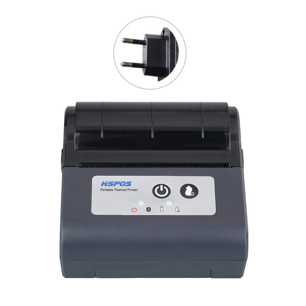 PEALO Mini Impresora térmica inalámbrica, 80 mm Bluetooth ...