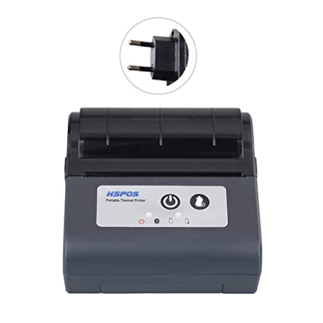 Impresora térmica de recibos, 80 mm Mini inalámbrica Bluetooth ...
