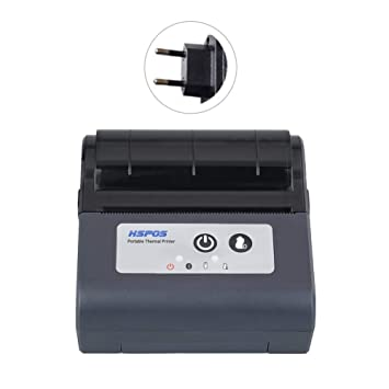 PEALO Mini Impresora térmica inalámbrica, 80 mm Bluetooth ...