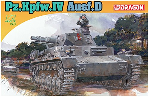 Used, Dragon Models 1/72 Pz.Kpfw.IV Ausf.D Kit for sale  Delivered anywhere in USA