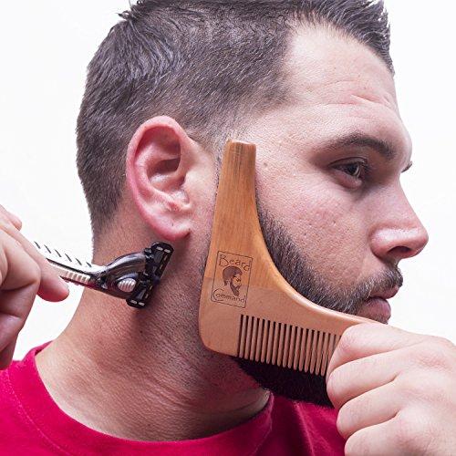 Phenomenal Beard Comb And Brush Set Beard Trimmer Shaping Tool For Men Short Hairstyles For Black Women Fulllsitofus