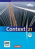 Context 21 - Berlin, Brandenburg und Mecklenburg-Vorpommern: Schülerbuch mit DVD-ROM