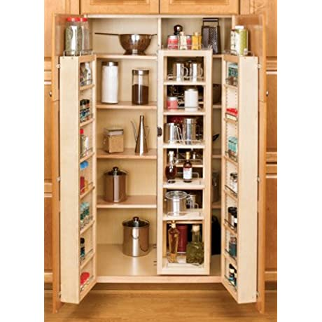 Rev A Shelf 51 Swing Out Pantry Kit Organizer Natural