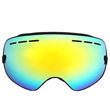 gold ski goggles  Amazon.com : Kids Ski Goggles, ZNY Children Frame-less Skiing ...