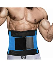 Taille Trainer Voor Dames En Heren, Neopreen Zweetband Taille Trimmer Riem Afslanken Maag Wrap Voor Workout, Taille Trimmer Voor Mannen, Slanke Zweet Riem
