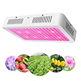 Vander 1200W LED Plant Grow Lights Full Spectrum UV IR Grow Lamp for Indoor Gardens Energy-Saving Hydroponic Plant Growing System for Greenhouse Home Office Veggies & Flowers