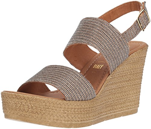 Seychelles Women's Downtime Wedge Sandal, Bronze, 8 M US (Seychelles Womens Shoes Wedge)