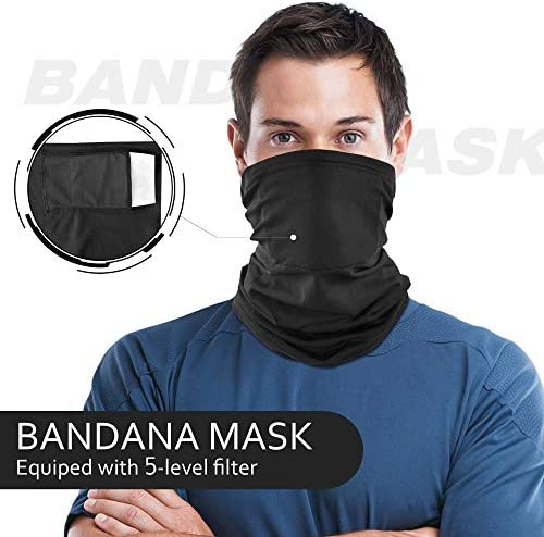 Details about  /KQ/_ Soft Face Cover Neck Gaiter Breathable Outdoor Cycling Anti-UV Dustproof Sca
