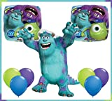 Monsters University Sulley Jumbo Mylar Balloon Set Birthday Party Decor by Qualatex