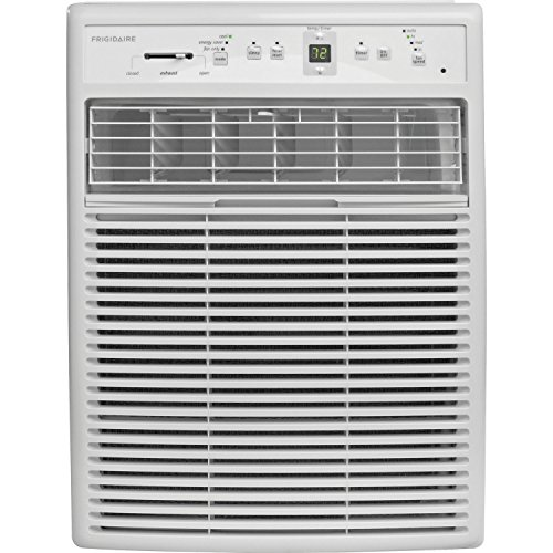 Frigidaire FFRS0822S1 8000 BTU Heavy-Duty Slider Casement Window Air Conditioner, Electronic Controls, Remote Control (Best Casement Window Air Conditioner)
