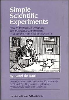 simple scientific experiments by aurel de ratti pdf