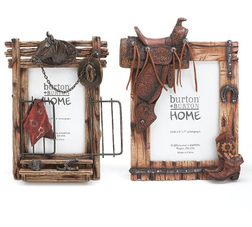 Set of 2 Horse & Western Themed Picture - Kitchen Pictures Western