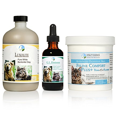 TRDV Protocol for Cats (Lrg, Seafood) - 3 Part Program for Digestive Health and Stability by Vitality Science