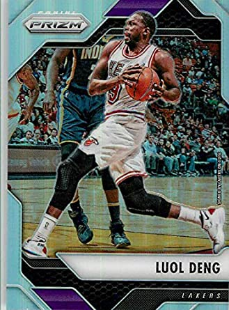 a592fb1815c 2016-17 Panini Prizm Silver Refractor  137 Luol Deng Los Angeles Lakers  Official NBA