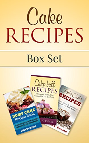 Cake Recipes Box Set Dinners ebook product image