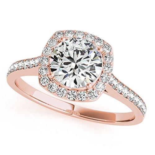 Diamond Halo Ring - 7