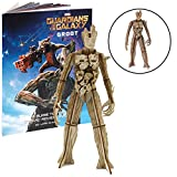 Marvel Guardians of the Galaxy Groot Book and 3D Wood Model Kit - Build, Paint and Collect Your Own Wooden Model - Great For Kids and Adults,12+ - 6'' h