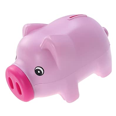 Garneck Lindo plástico Piggy Bank Coin Bank Ahorro Pot Money ...