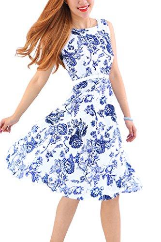 Plain With Long Women's YMING Loose Belts Maxi Dress Blue125 Sleeve Casual Long 4xIUOUnqS