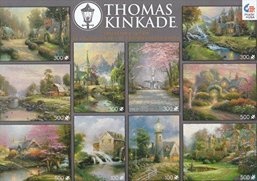 Thomas Kinkade 10 Puzzle Pack