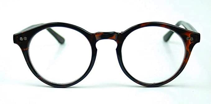1920s Accessories | Great Gatsby Accessories Guide Vintage Retro Style Oval Round Clear Lenses Eyeglasses Keyhole $9.90 AT vintagedancer.com