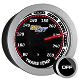 GlowShift Tinted Transmission Temperature Gauge by GlowShift
