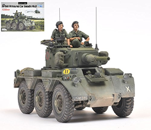BRITISH ARMOURED SALADIN KIT 1 35 - Dragon - Kit Mezzi Militari - Kit di Montaggio