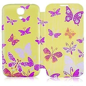 SHOUJIKE Butterfly Pattern Full Body Case for Samsung Galaxy S4 I9500