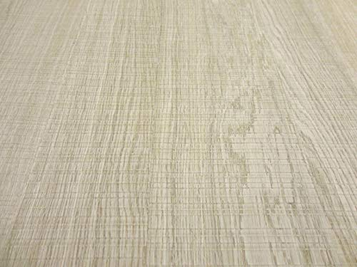 "Rough Sawn White Oak wood veneer sheet 24"" x 96"" with paper backer 1/40th"" thick"