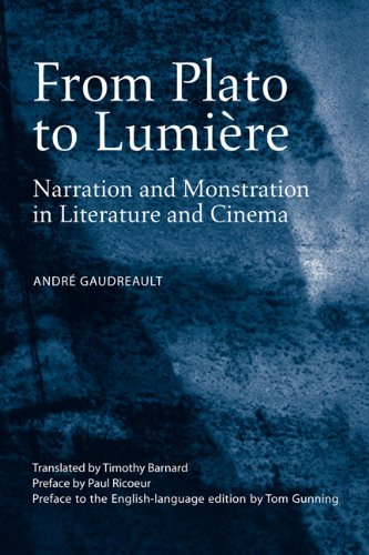 Download From Plato to Lumière: Narration and Monstration in Literature and Cinema pdf epub