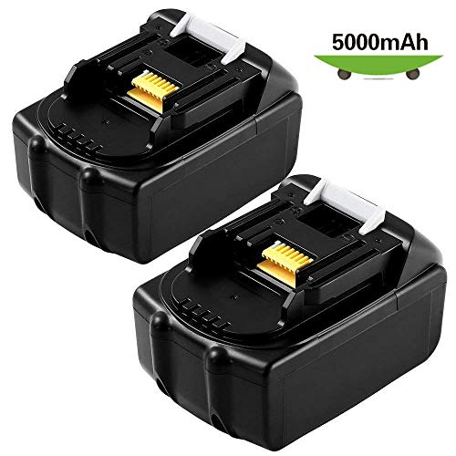 2 Packs BL1850 5.0Ah Replacement for Makita 18V Battery LXT